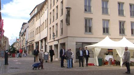 Übergabe: Obermarkt 7