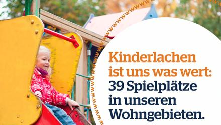 Imagespot der SWG Freiberg Kinderspielplätze
