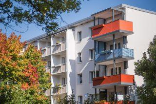 Flexibel und lebendig: die neuen Balkone der SWG