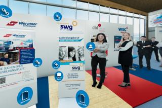 Herzlich Willkommen zur virtuellen Ausbildungsmesse am Stand der SWG!