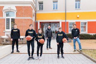 """Vereinsräume für die """"Miners"""" – Sponsoring-Partner der Freiberger Basketballer"""