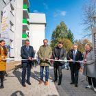 Feierliche Eröffnung Haus Smaragd in den Friedeburger Mineralienhöfen